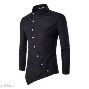Myhra Trendy Solid Shirts