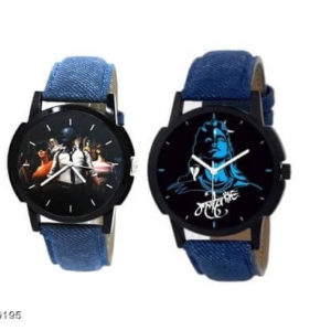 Classic Leather Analog Kids Watches Combo