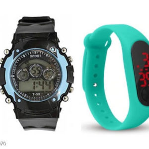 Kid's Trendy Watches ( Pack of 2)
