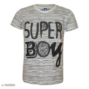 Alluring Cotton Knitted Boy's T-Shirts