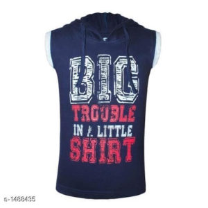Attractive Kid's Cotton Knitted T-Shirt