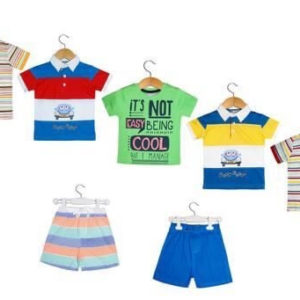 Attractive Boy's Cotton Clothing Set