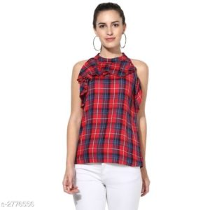 Fancy Sleeveless Designer Top