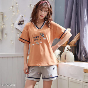 Trendy Women's Sleepwear Set