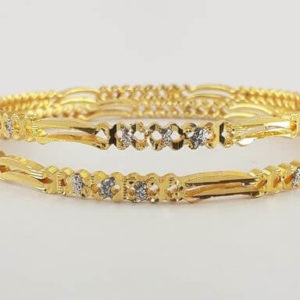 Gold Plated Alloy Bangles