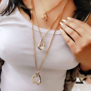 Alloy Gold Plated Necklaces & Chains