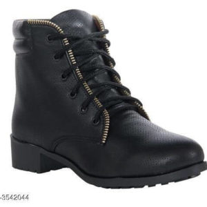 Trendy Women's Soft Leather Boots
