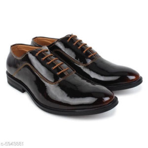 Attractive Black Leather Shoes