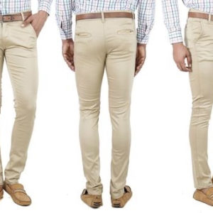 Men's Stylish Poly Cotton Trousers