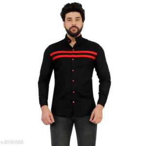 Trendy Men's Cotton Casual Shirts