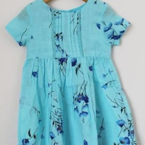 Beautiful Cotton Kid's Girl Frock 1