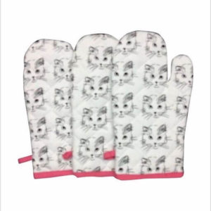 Attractive Cotton Oven Gloves / Mitts