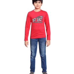 Doodle Classy Cotton Printed Kid's Boy's T-Shirts 2