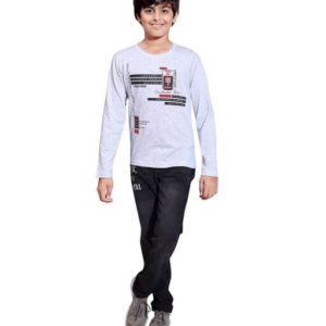 Doodle Classy Cotton Printed Kid's Boy's T-Shirts 4