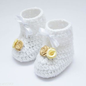 Kid's Trendy Wool Baby Booties