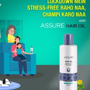 Assure Hair Oil enriched with Arnica Extract & Tea Tree oil Hair Oil