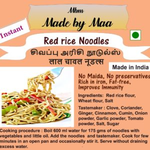 Instant – Red rice noodles
