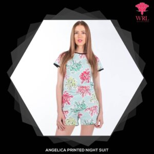 ANGELICA PRINTED NIGHT SUIT