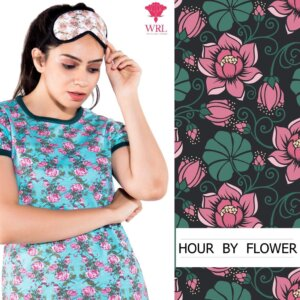 HOUR BY FLOWER NIGHT WEAR