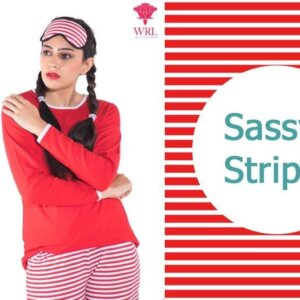 SASSY STRIPES LOUNGE SET
