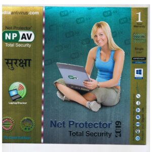 Net Protector Total Security 1 PC, 1 Year (CD)