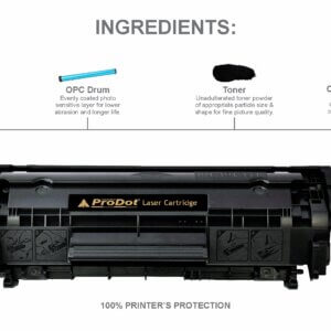 Prodot PLC-912/925 U Toner Cartridge for Laser Printers