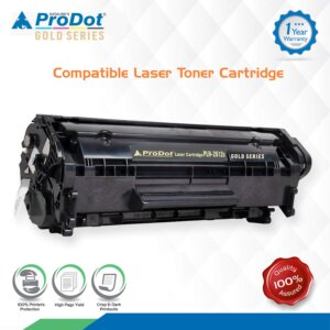 rodot PLH-2612A Toner Cartridge for HP and Canon Laserjet Printers