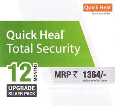 Quick Heal Total Security Renewal 1User 1Year