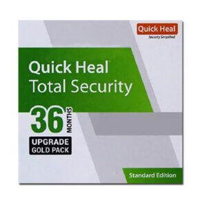 Quick Heal Total Security Renewal – 1 User, 3 Year